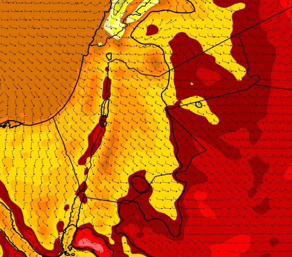 الجمعة .. إنخفاض على درجات الحرارة واجواء ربيعية لطيفة عموماً