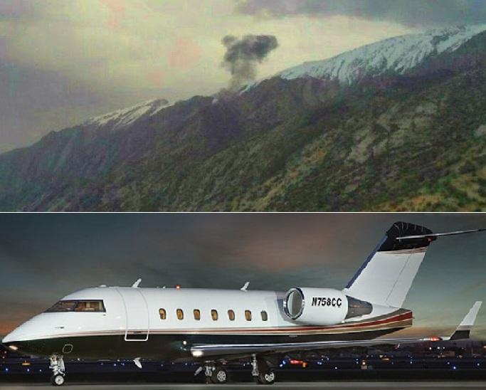 وسط الأمطار الغزيرة.. وفاة 11 شخصًا بتحطم طائرة تركية في إيران