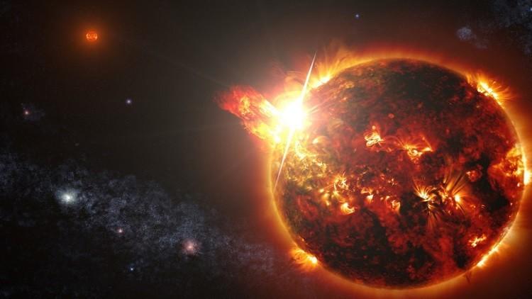 """""""ناسا"""" تسجل انفجارات غريبة على سطح الشمس"""