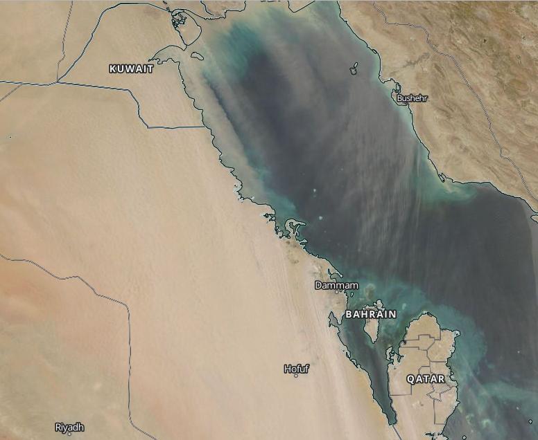 من الكويت لبحر العرب .. مليون كم مربع من غبار البوارح