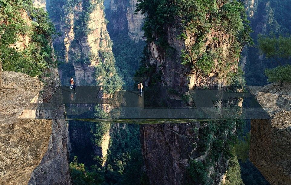 هل تستطيع العبور فوق جسر لا تراه؟ هذا ما سيحصل في الصين