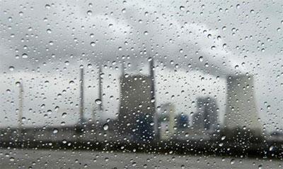 الأمطار الحمضية و أضرارها