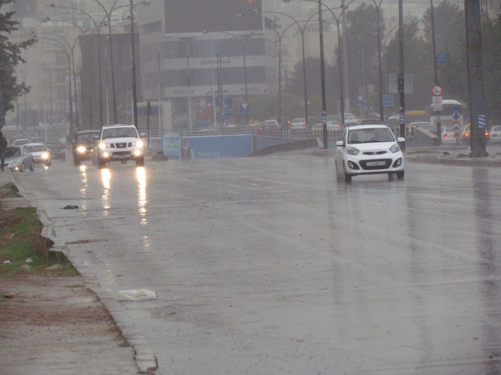 كميات الأمطار في مختلف مناطق المملكة خلال المنخفض الأخير